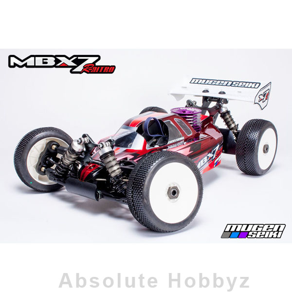 Mugen Seiki MBX7R 1/8 Nitro Off-Road Competition Buggy Kit