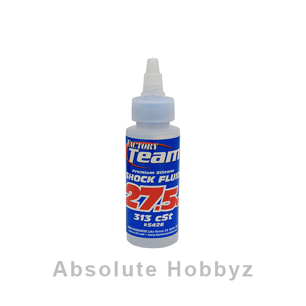 Team Associated Silicone Shock Oil (27.5wt) (2oz)