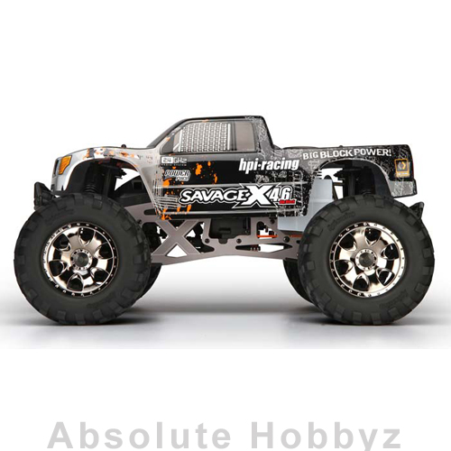 HPI Racing 1/8 Savage X 4.6 Nitro 2.4GHz RTR