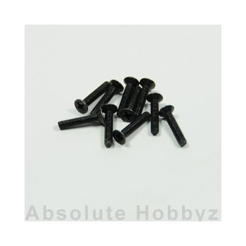 Kyosho 1-S33016 Flat Head Screw(M3x16) (10pcs)