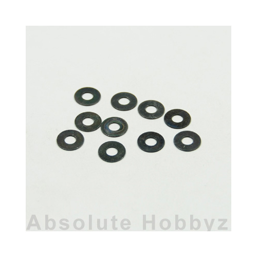 Kyosho 1-W401005 Washer(M4x10x0.5) (10pcs)