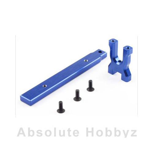 Kyosho  - Aluminum Center Mount & Stiffener Set (ZX-5 FS/FS2)