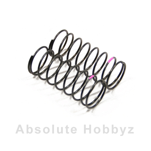 Kyosho Big Bore Front Shock Spring (Pink/Soft) (2)