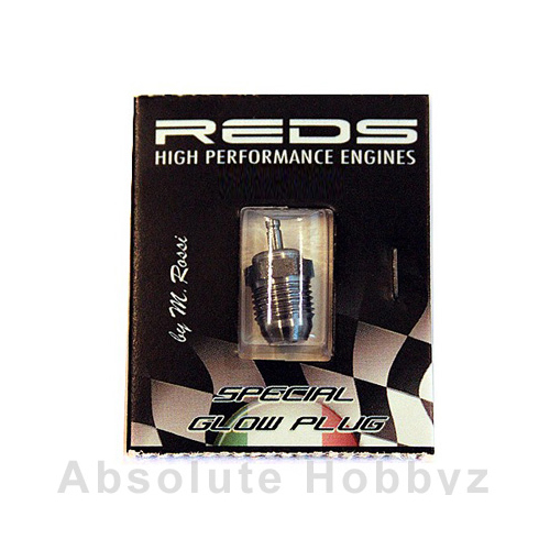 Reds Racing Glow Plug 4 (T4C) Very Hot Turbo - Off Road