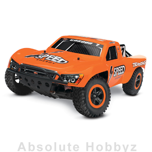 Traxxas Nitro Slash 3.3 1/10 RTR 2WD Short-Course Truck (w/TQ 2.4Ghz Radio)