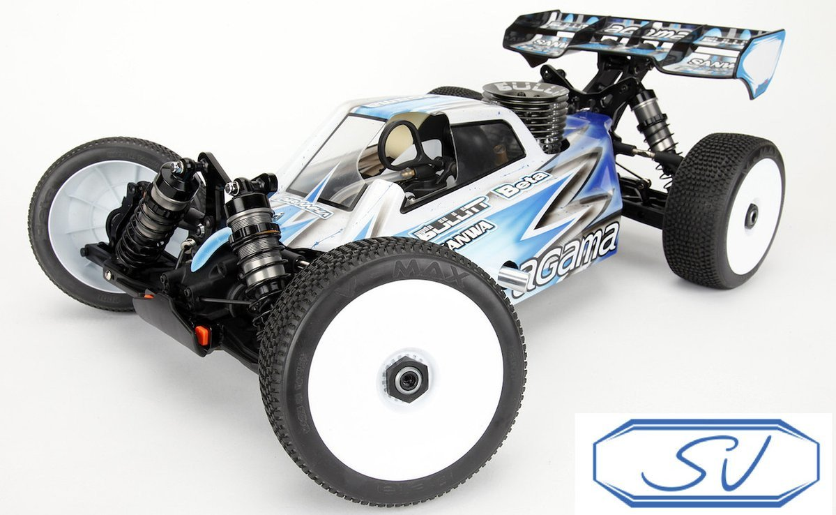 Agama Racing A215 SV 1/8 4WD Off-Road Nitro Buggy Kit