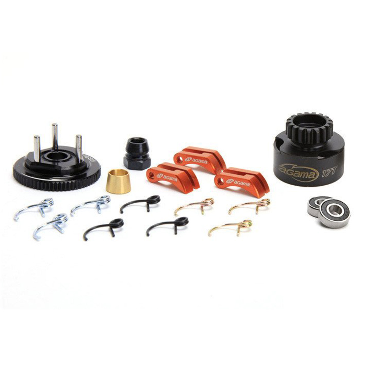 Agama Clutch Bell & Complete Clutch Set (w/ 17T Bell)