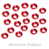 AHZ 3mm Countersunk / Concave Washers (Red) (20pcs)