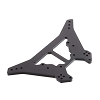 ARRMA Shock Tower Rear L Aluminum Black: Kraton