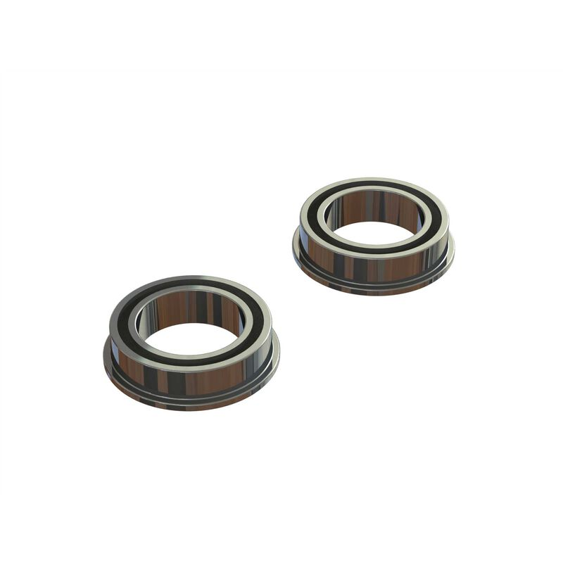 ARRMA Flange Ball Bearing 10x15x4mm 2RS (2)