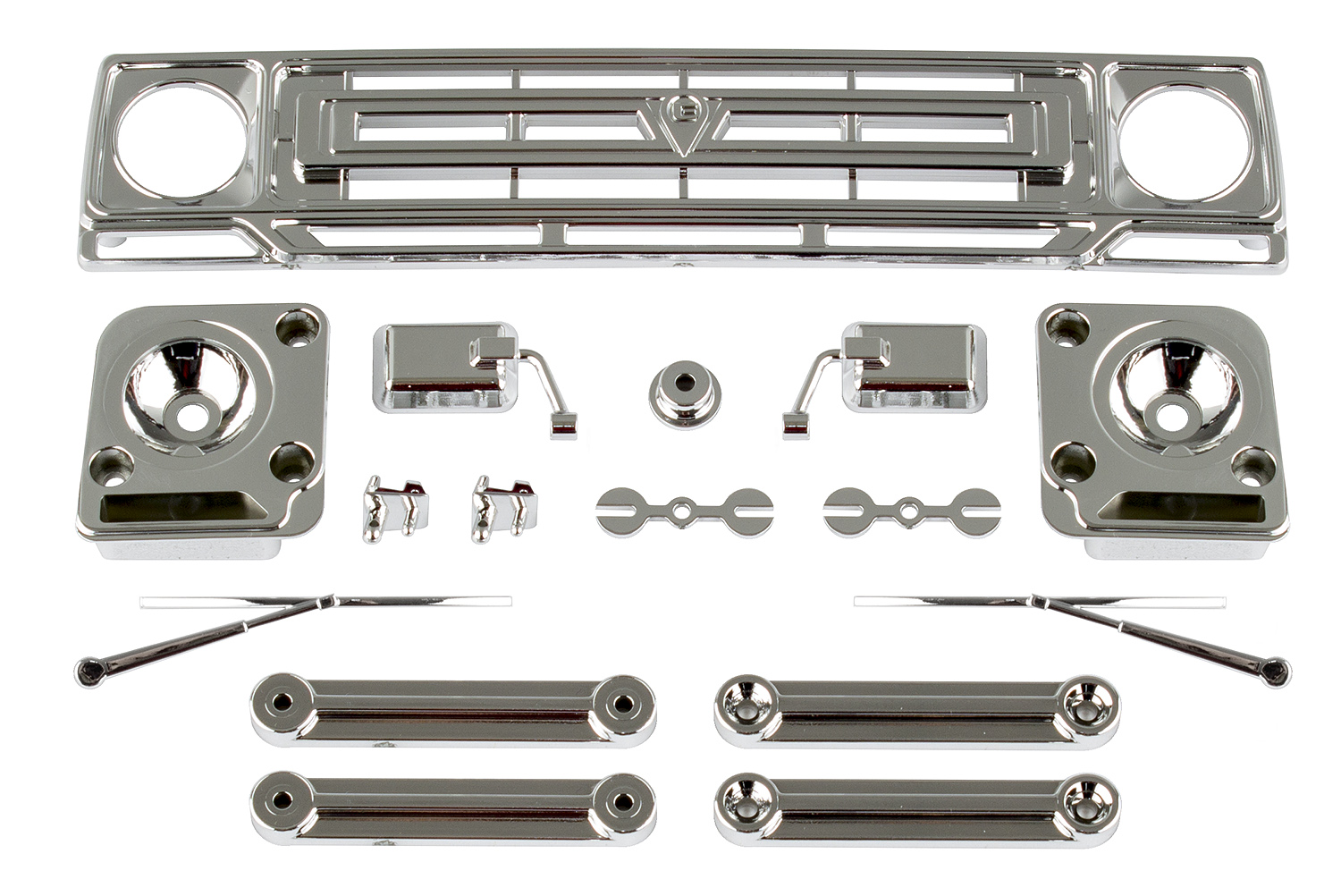 Associated Sendero Body Accessories Chrome