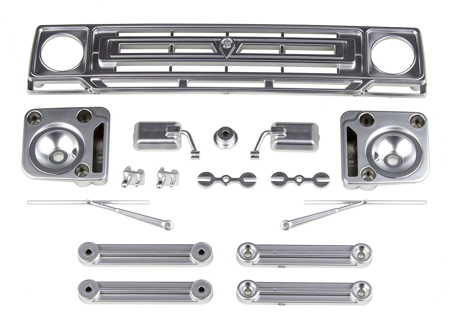 Associated Sendero Body Accessories Satin Chrome
