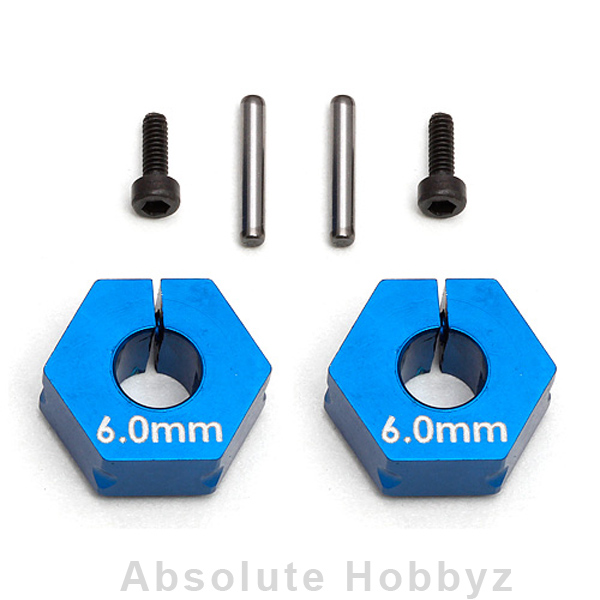 Team Associated Clamping Wheel Hex [6.0mm]