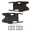 Team Associated RC8B3.1 FT Graphite Arm Stiffeners (Rear)