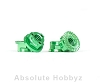 Avid RC Avid RC Triad M4 Light Wheel Nuts | Green | 4pc