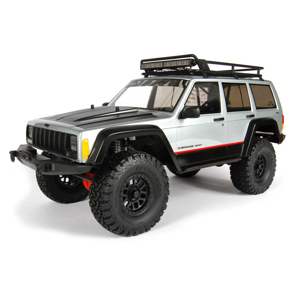 Jeep Cheroker: Axial 2000 Jeep Cherokee .040 Clear Body
