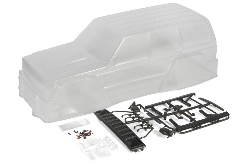 Axial 2000 Jeep Cherokee  040 Clear Body
