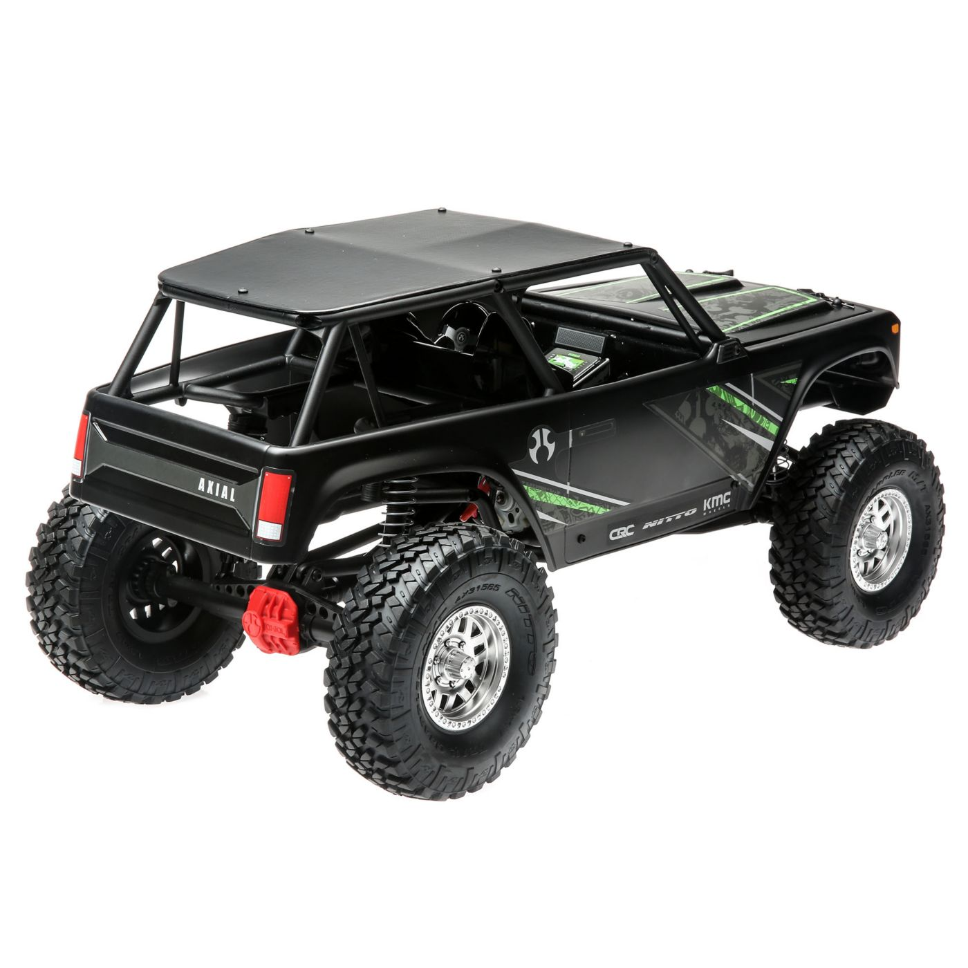 Axial Wraith 1/10 RTR Scale 1 9 Electric Rock Crawler (Black)