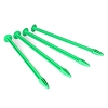 DE Racing Truggy Tire Spikes (Green) (4)