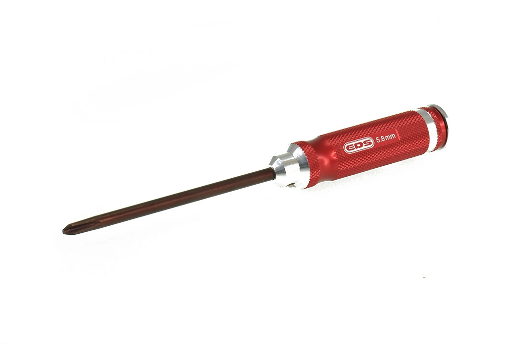 EDS Racing Products Phillips Head Screwdriver 5.8mm x 120mm
