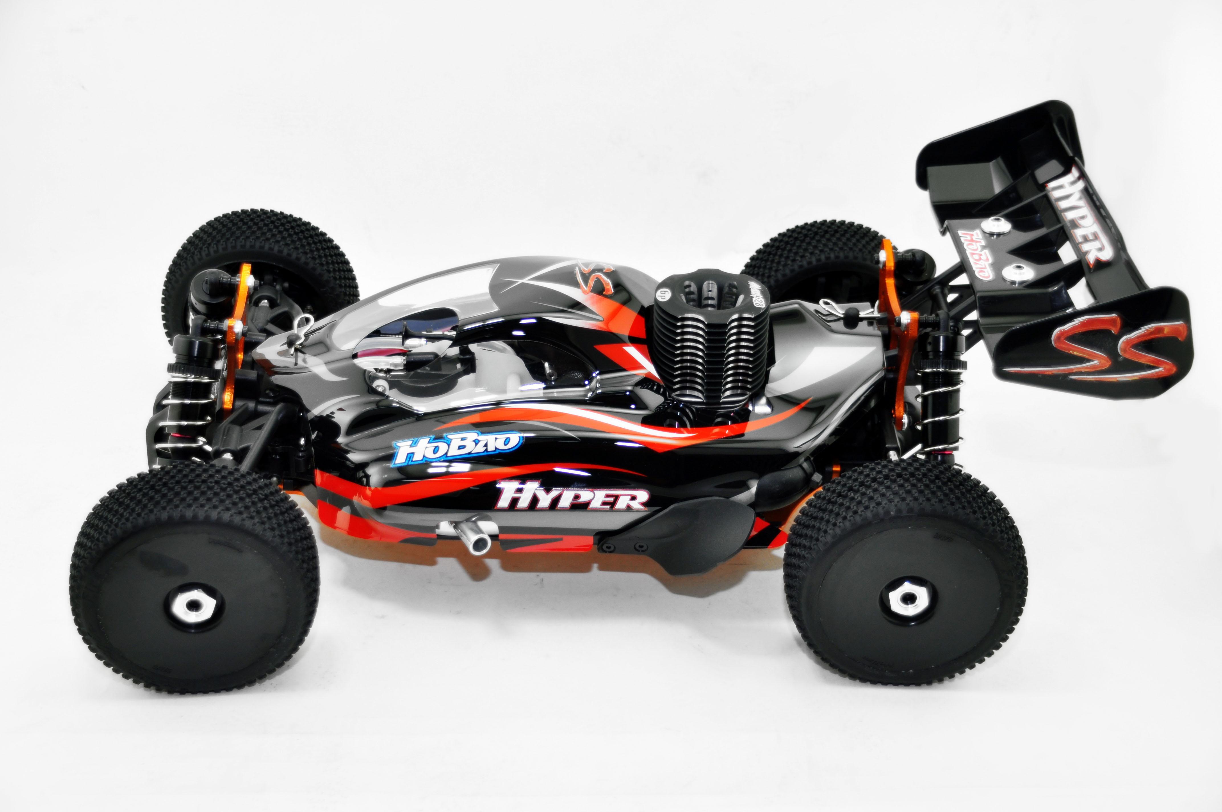 Hobao 1 8 Hyper Ss Nitro 4wd 2 4ghz Rtr 28 Engine Savox