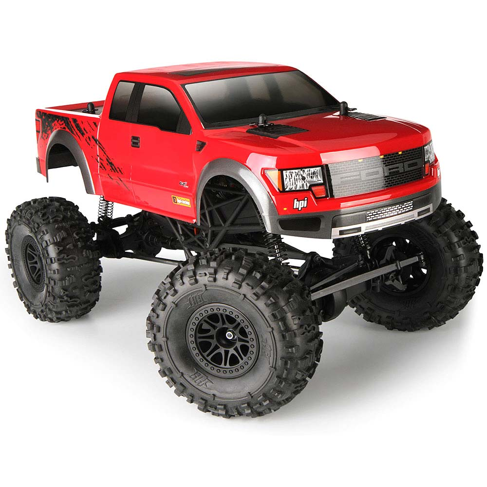 HPI Crawler King RTR 4WD Rock Crawler (Ford F150 SVT) w/2 4GHz Radio,  Battery & Charger