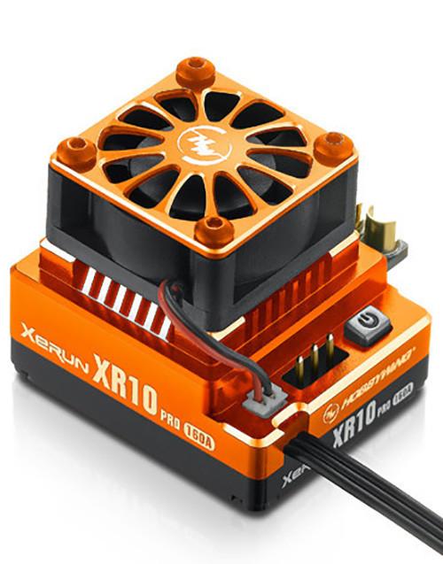 Hobbywing Xerun, Xr10 Pro, 160 Amp Brushless Esc Orange