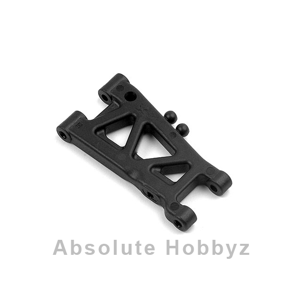 XRAY Hard Rubber-Spec 1-Hole Rear Suspension Arm (T2/T3)