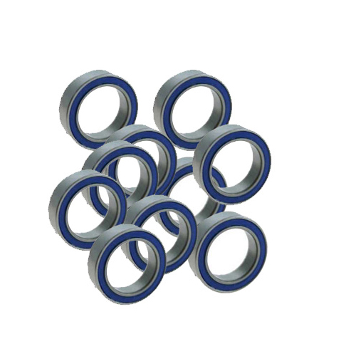 AHZ R/C Dual Rubber Shield Bearings 10x15x4mm (10pcs)