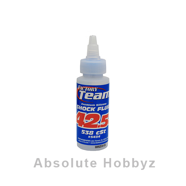 Team Associated Silicone Shock Oil (42.5wt) (2oz)