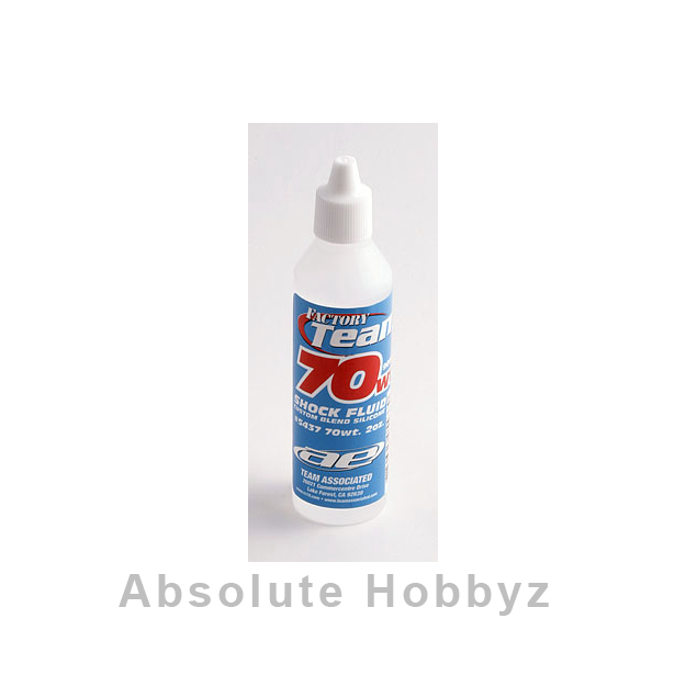 Team Associated Silicone Shock Oil (70wt) (2oz)