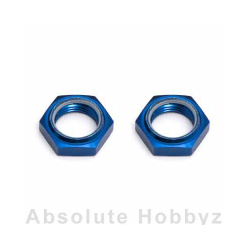 Team Associated Nyloc Whl Hex Nuts RC8(2