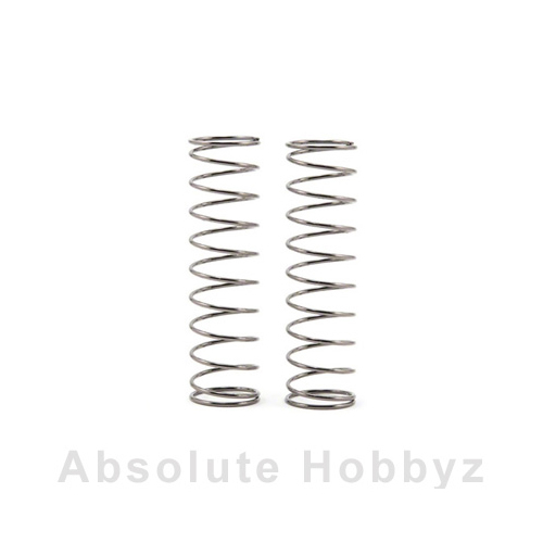 Team Associated 13mm Rear Shock Spring (White)(2.5lb) (1pr)