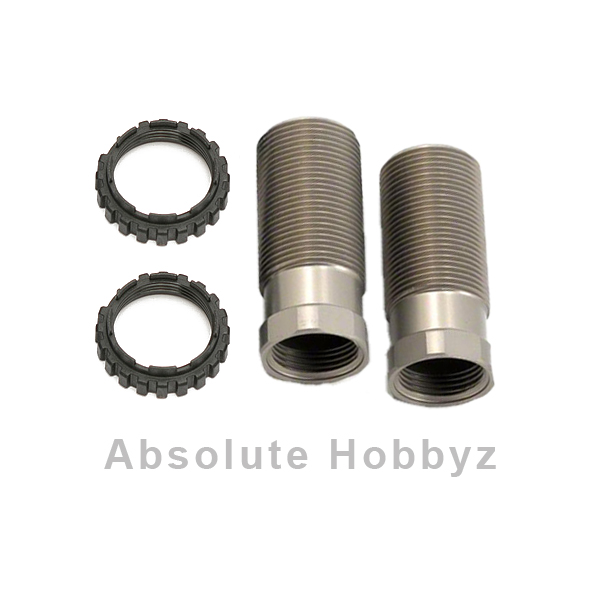 Team Associated Factory Team 13mm Hard Anodized Front Shock Body Set