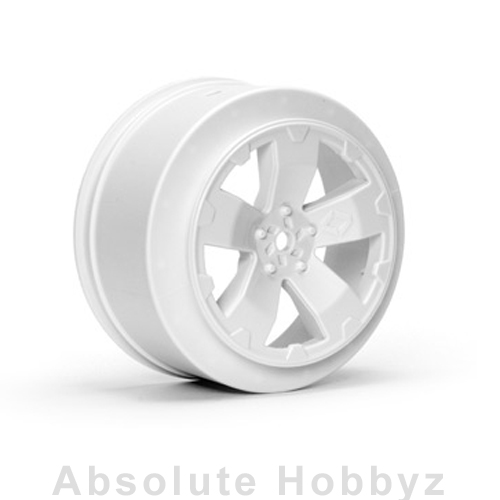 Avid RC Sabertooth Losi-SCTE Wheel | White | (1 Pair)