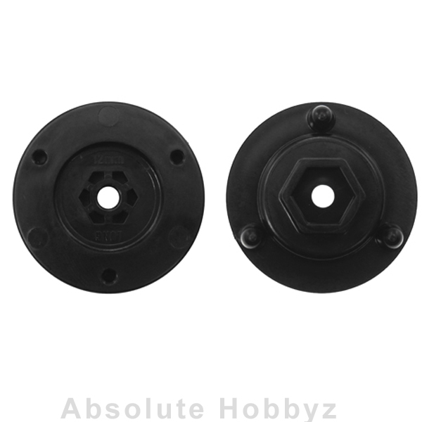 DE Racing Adapters for 12mm Hex / Long Axle (For Setup System)