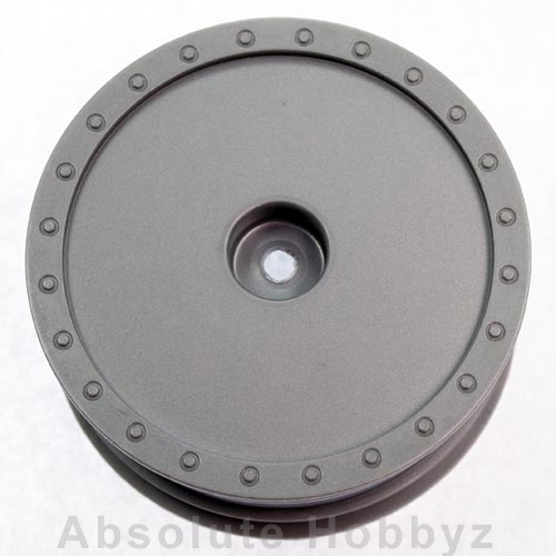 DE Racing 1/10 Scale Wheel (Kyosho ZX-5) - (Front Silver) 1pr