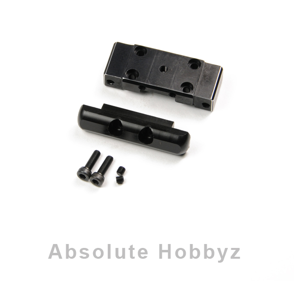 2 GHEA Racing Products Hard Anodized Aluminum Steering Post