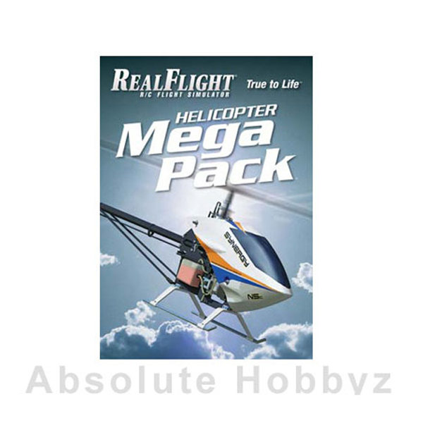 Great Planes RealFlight Heli Mega Pack