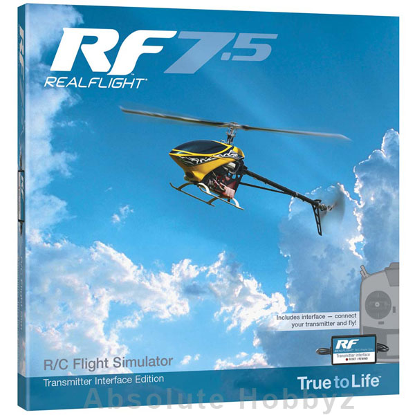 Great Planes RealFlight 7.5 w/Wired Interface