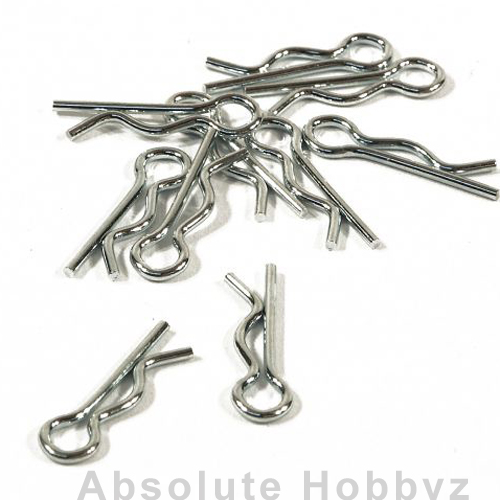 HPI Racing Body Clip 6mm Medium (20pcs)