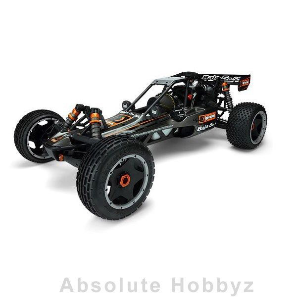 HPI Baja 1/5 Buggy Kit 5B SS 2.0 2014 w/Clear Body (Fuel 26S Gasoline Engine)