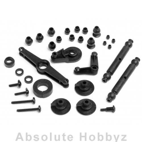 HPI Racing Servo Saver/Pivot Ball Set Wheely King