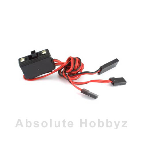 Hitec Standard Receiver Switch Harness with Charging Plug