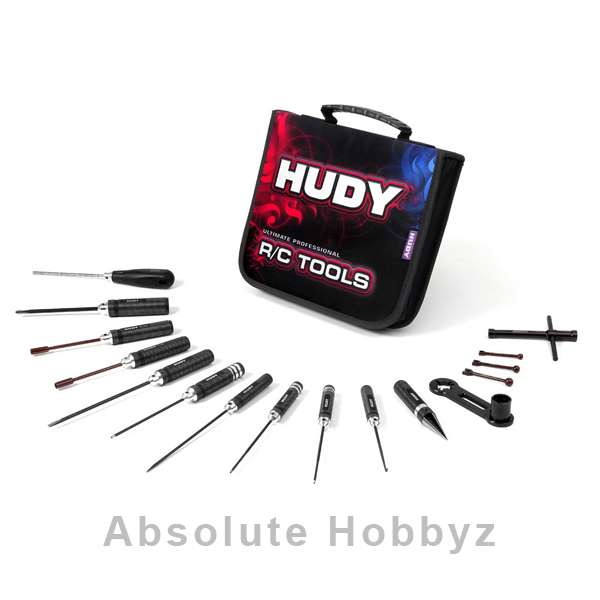 Hudy Tool Set w/Carrying Bag (1/8 Off-Road)