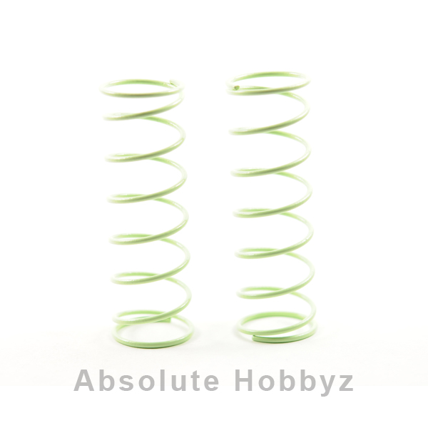 Kyosho Big Bore Front Shock Springs (Light Green - Medium) (2)