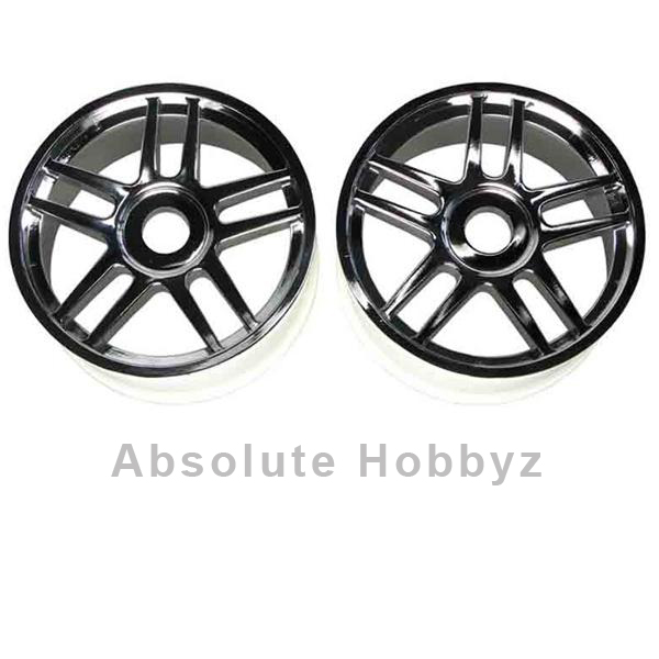 Kyosho Inferno GT Wheels /10-Spoke/Silver/ (2)