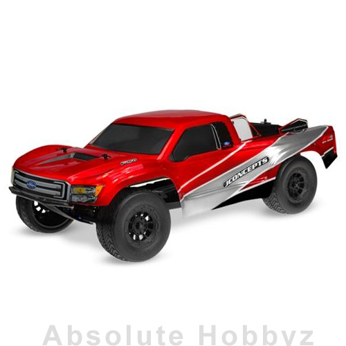 JConcepts Illuzion - 2012 Ford F-250 Super Duty XLT SuperCab (Clear)