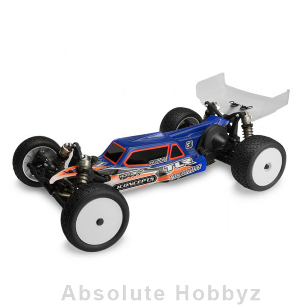 JConcepts Silencer - TLR 22 2.0 MM Clear Body w/ 6.5