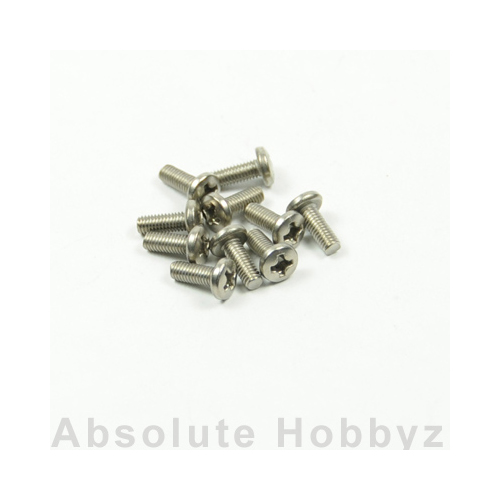 Kyosho Bind Screw(Titanium/M3x8/10pcs)